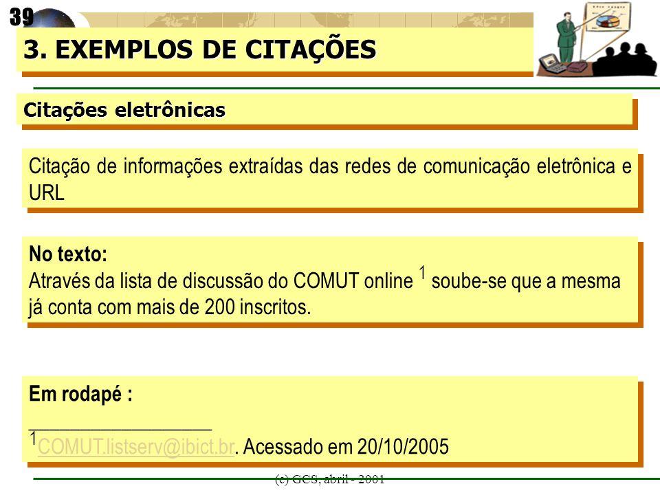 1COMUT.listserv@ibict.br. Acessado em 20/10/2005