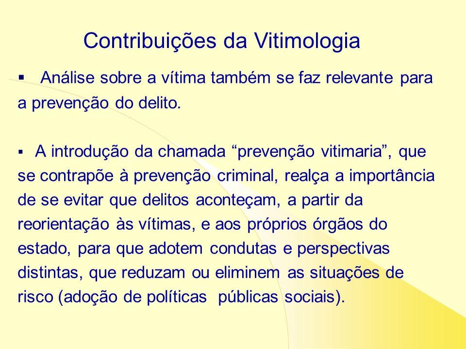 Contribuições da Vitimologia