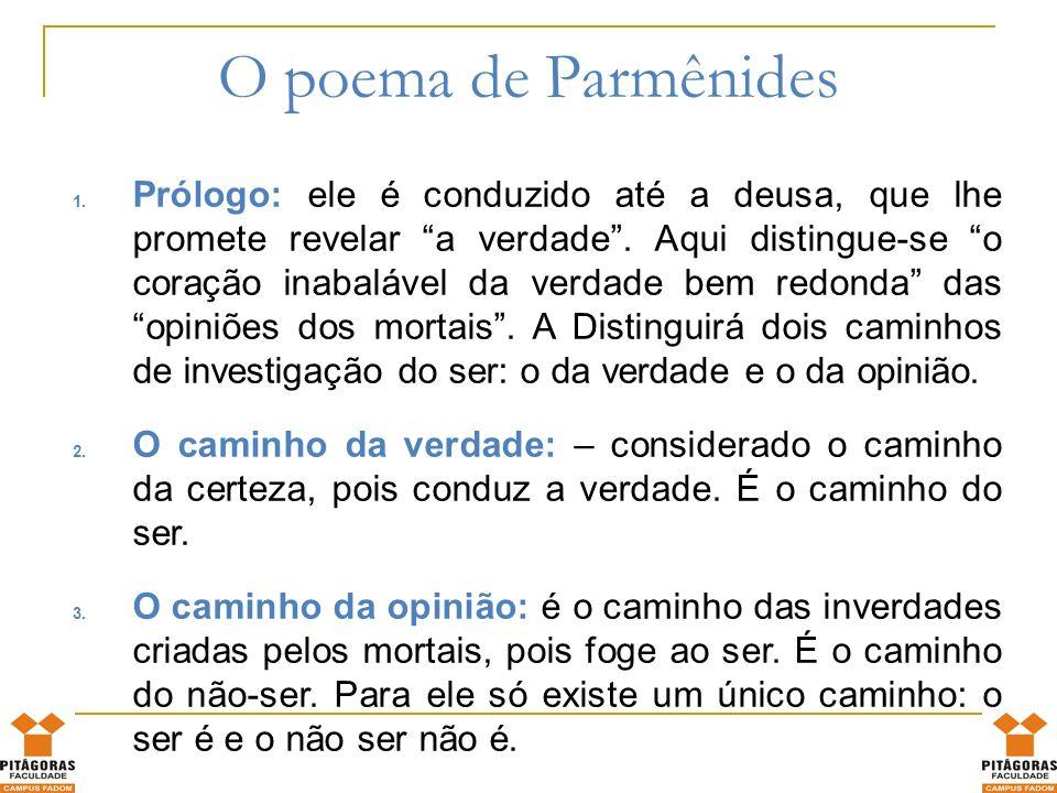 O poema de Parmênides