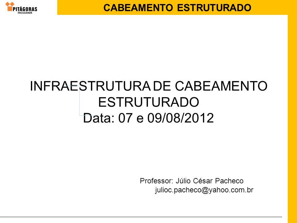 INFRAESTRUTURA DE CABEAMENTO ESTRUTURADO