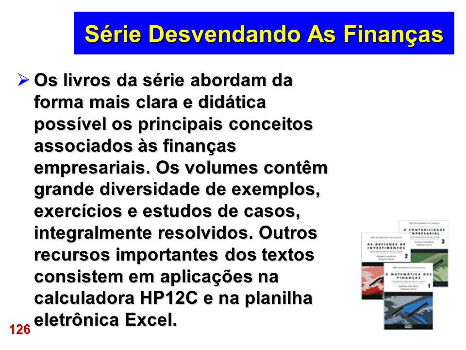 Série Desvendando As Finanças