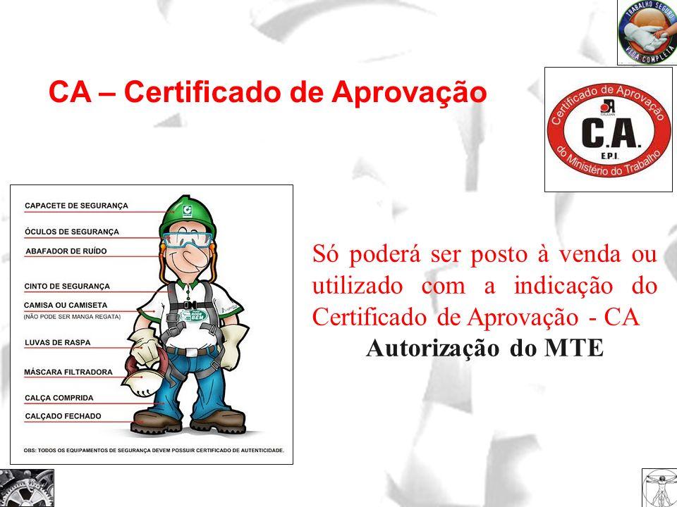 CA – Certificado de Aprovação