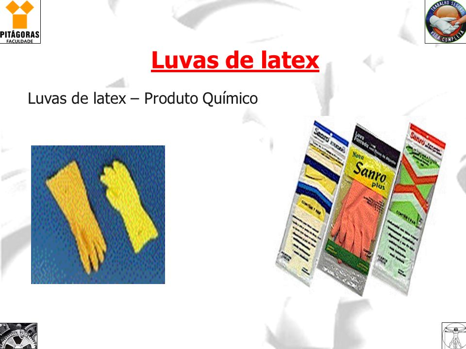 Luvas de latex Luvas de latex – Produto Químico