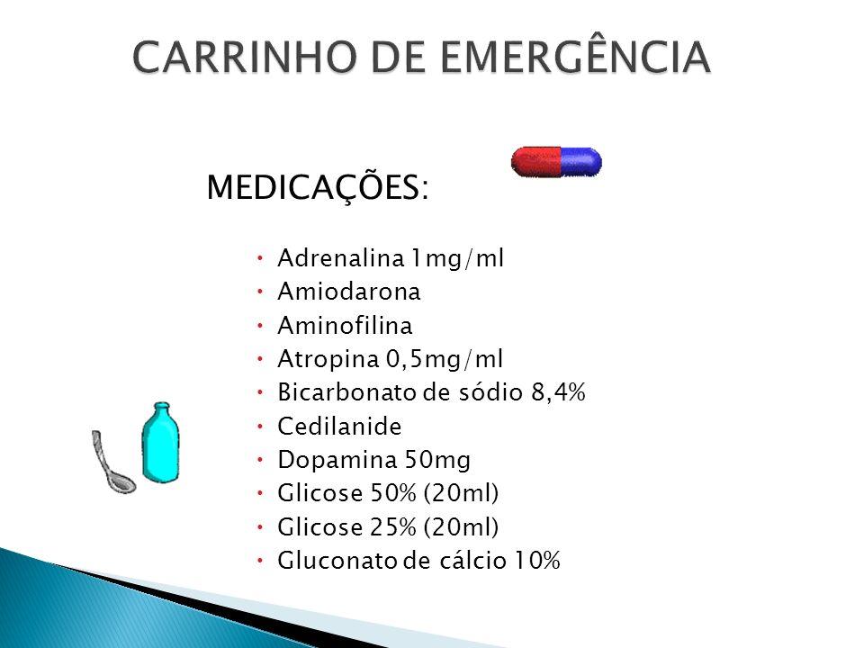 CARRINHO DE EMERGÊNCIA