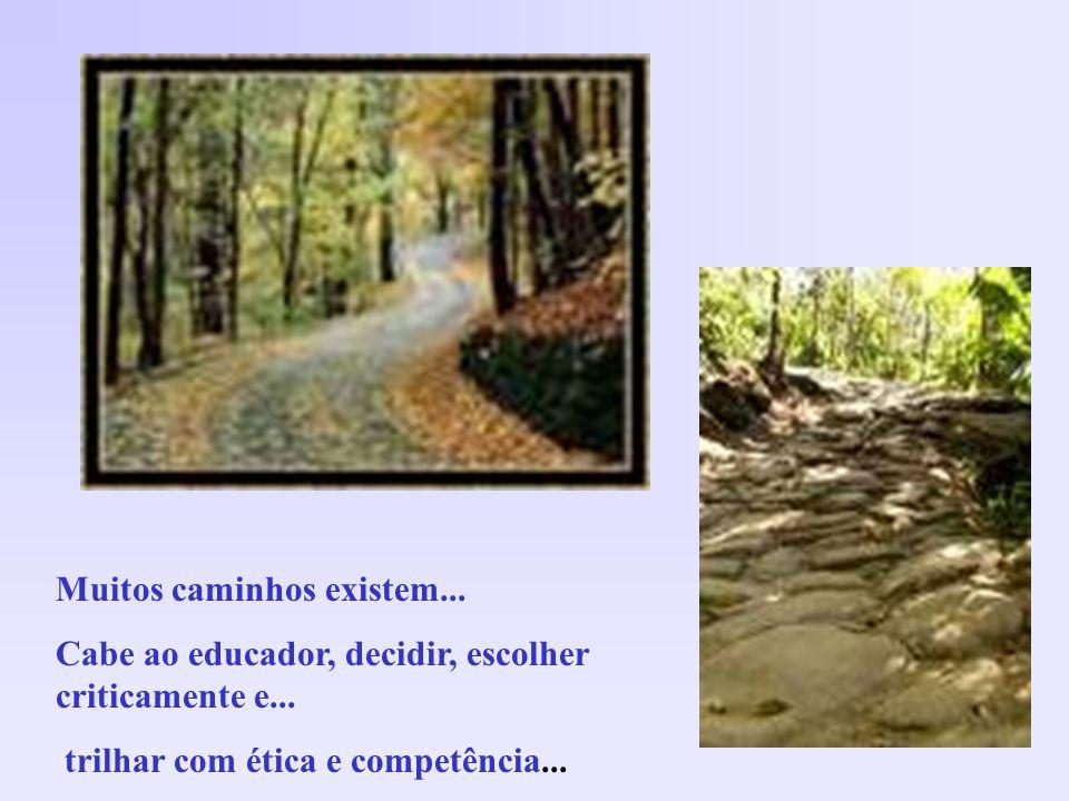 Muitos caminhos existem...