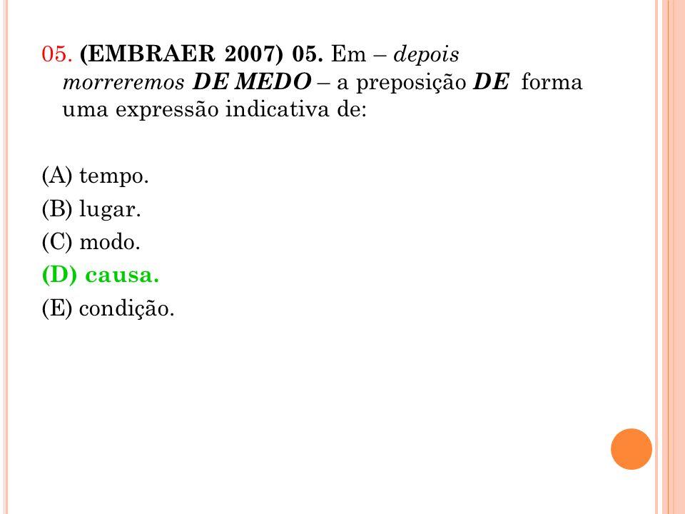 05. (EMBRAER 2007) 05.