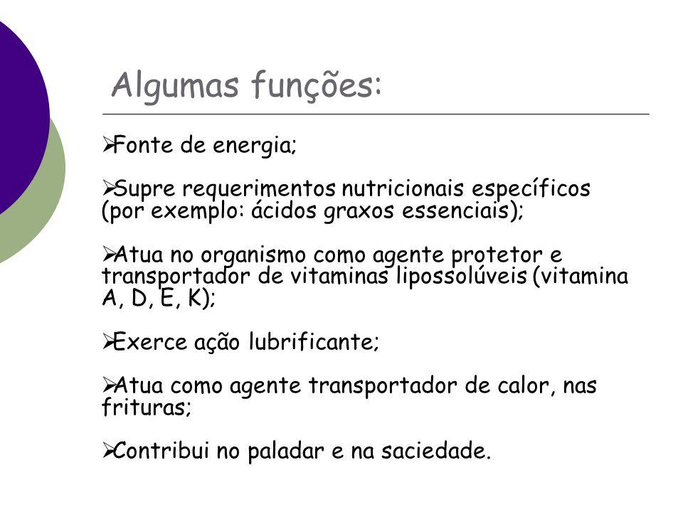 Algumas funções: Fonte de energia;