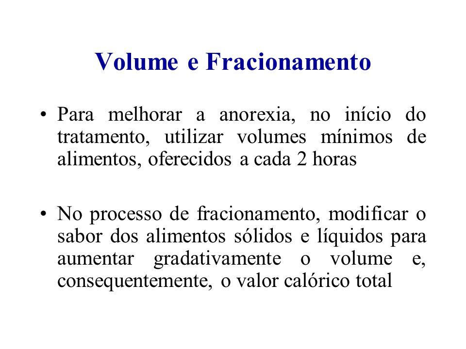 Volume e Fracionamento