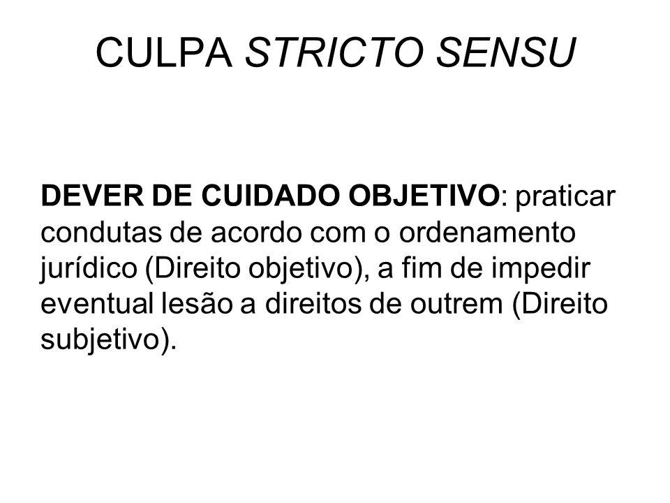 CULPA STRICTO SENSU
