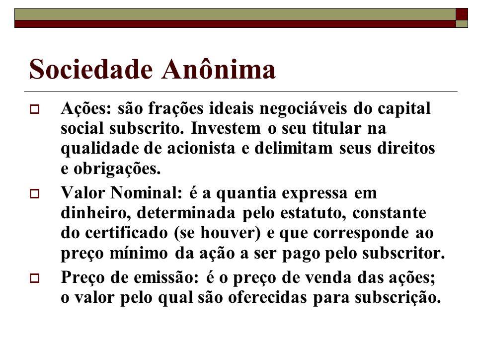 Sociedade Anônima