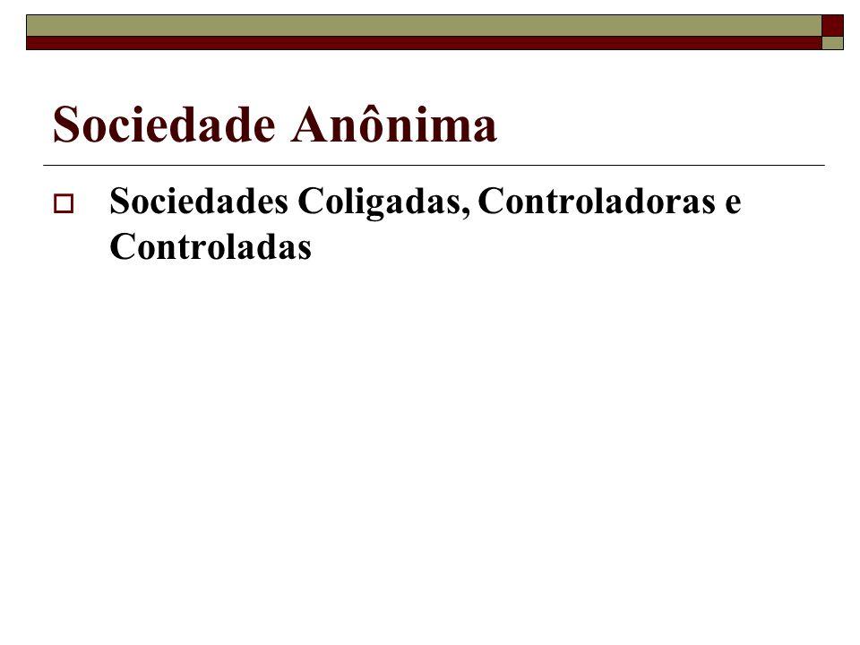 Sociedade Anônima Sociedades Coligadas, Controladoras e Controladas
