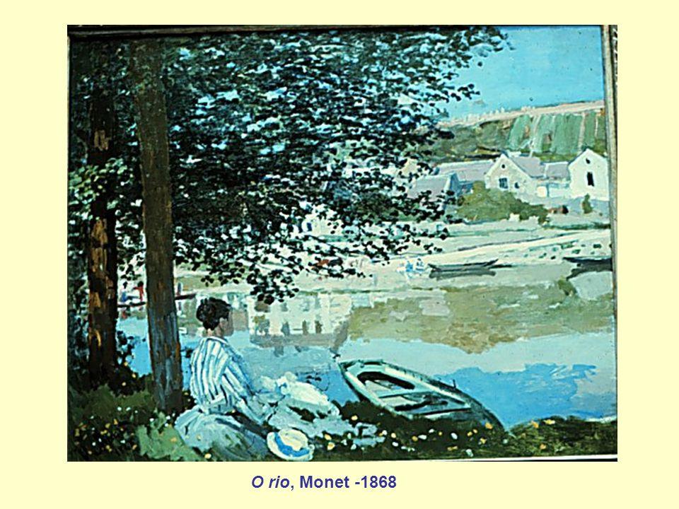 O rio, Monet -1868
