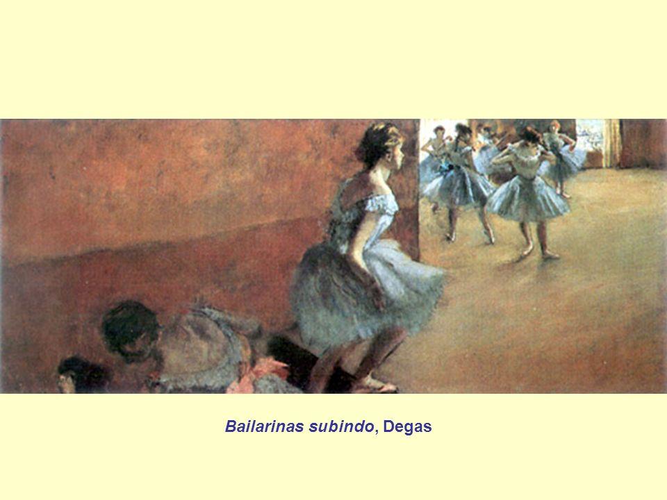Bailarinas subindo, Degas