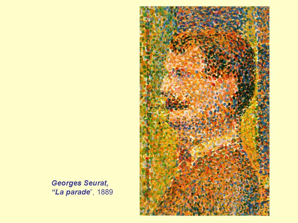 Georges Seurat, La parade , 1889