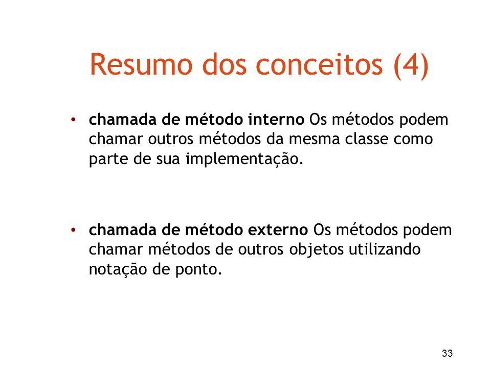 Resumo dos conceitos (4)