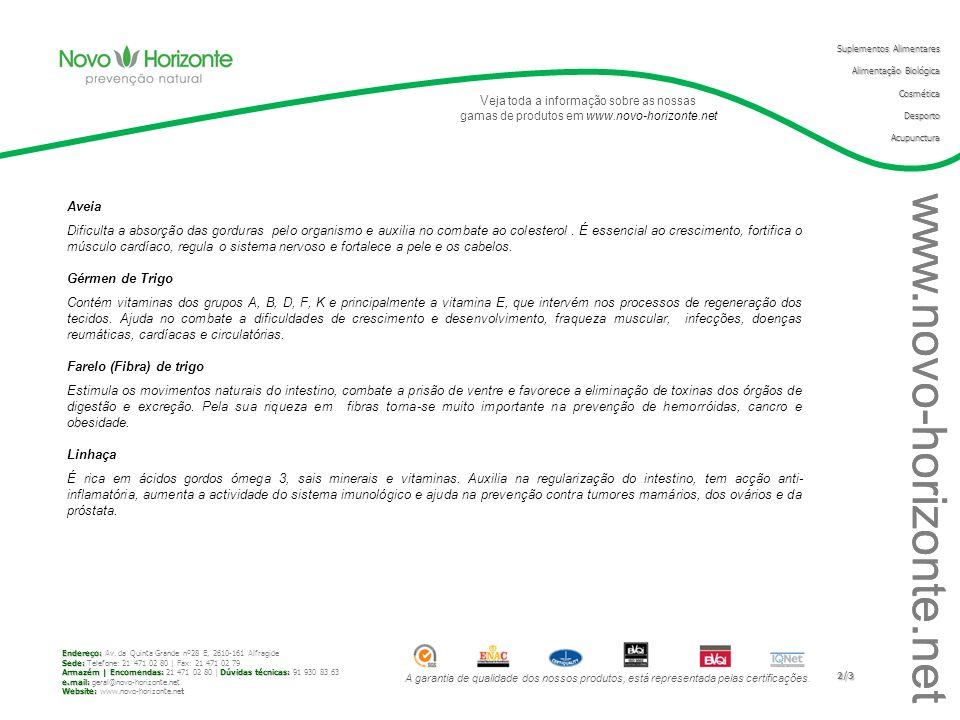 www.novo-horizonte.net Aveia