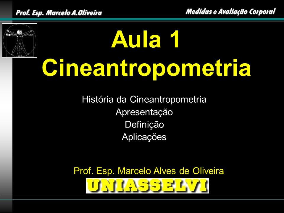 Aula 1 Cineantropometria