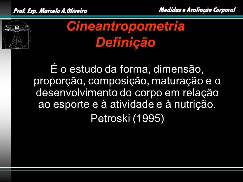 Cineantropometria Definição