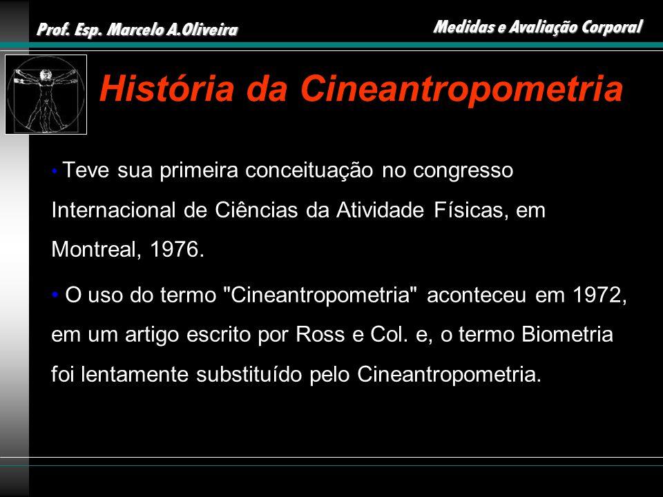 História da Cineantropometria