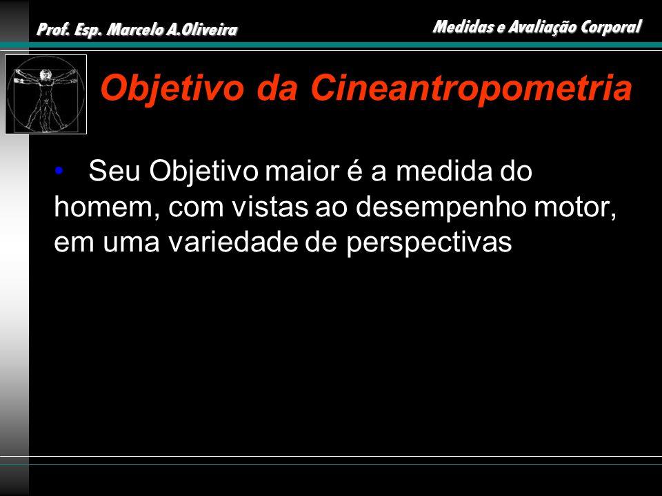 Objetivo da Cineantropometria