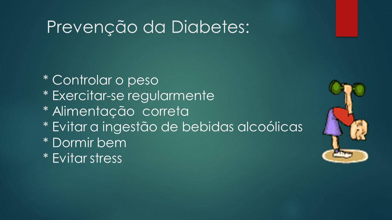 Prevenção da Diabetes: