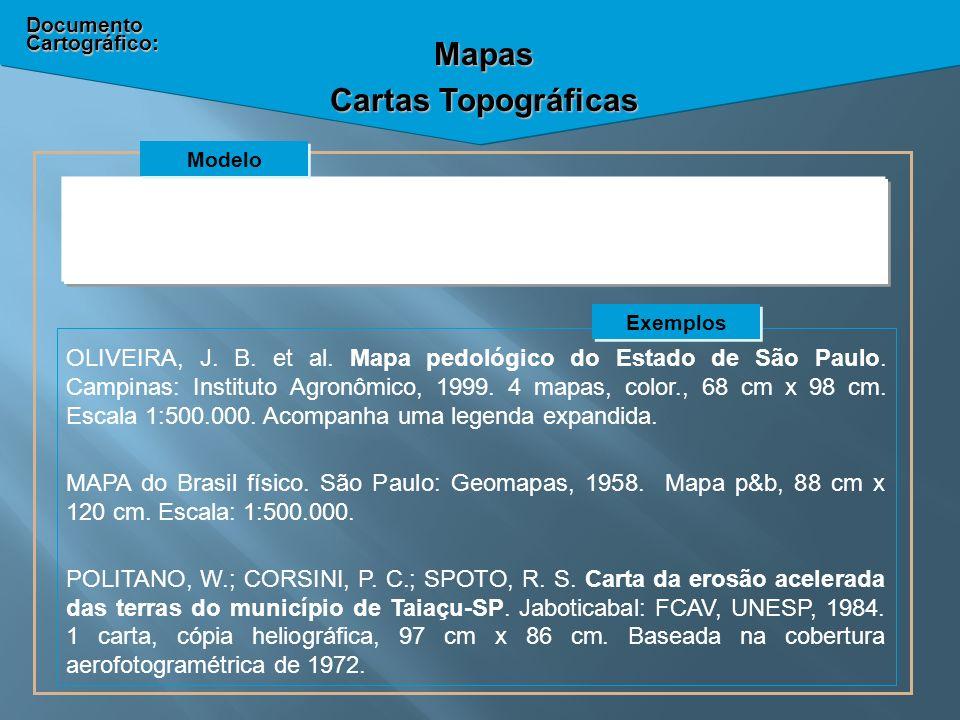 Mapas Cartas Topográficas