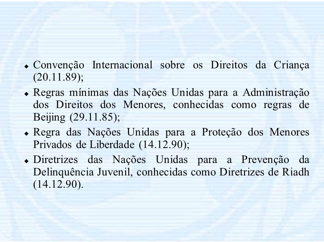 Convenção Internacional sobre os Direitos da Criança (20.11.89);