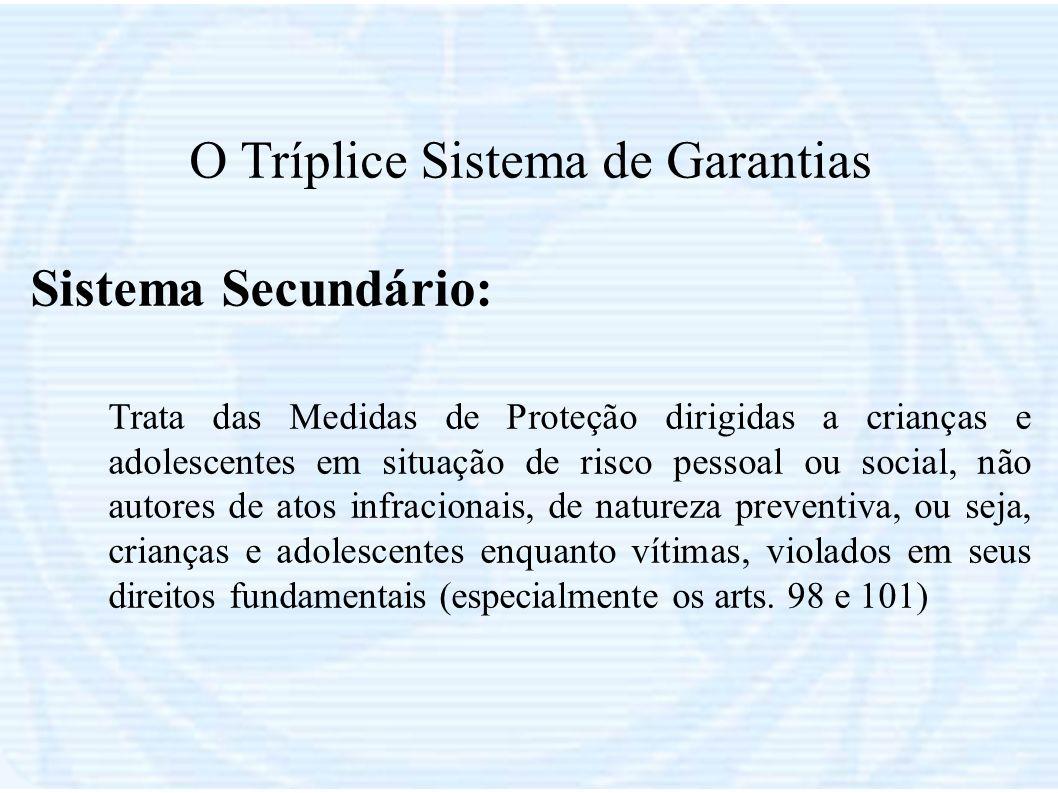 O Tríplice Sistema de Garantias