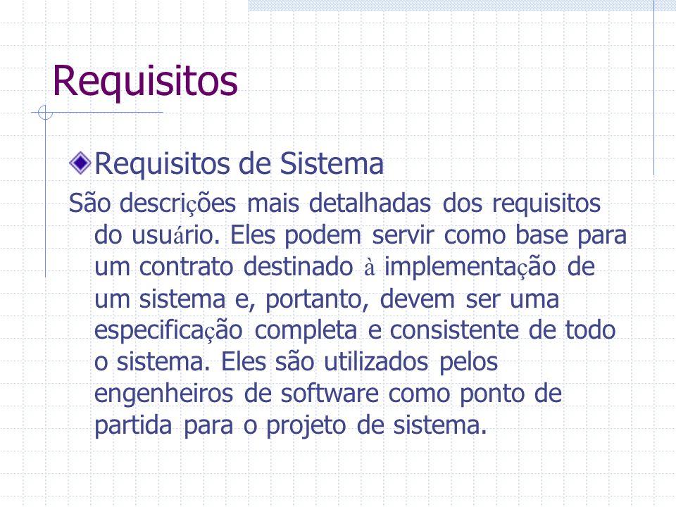 Requisitos Requisitos de Sistema