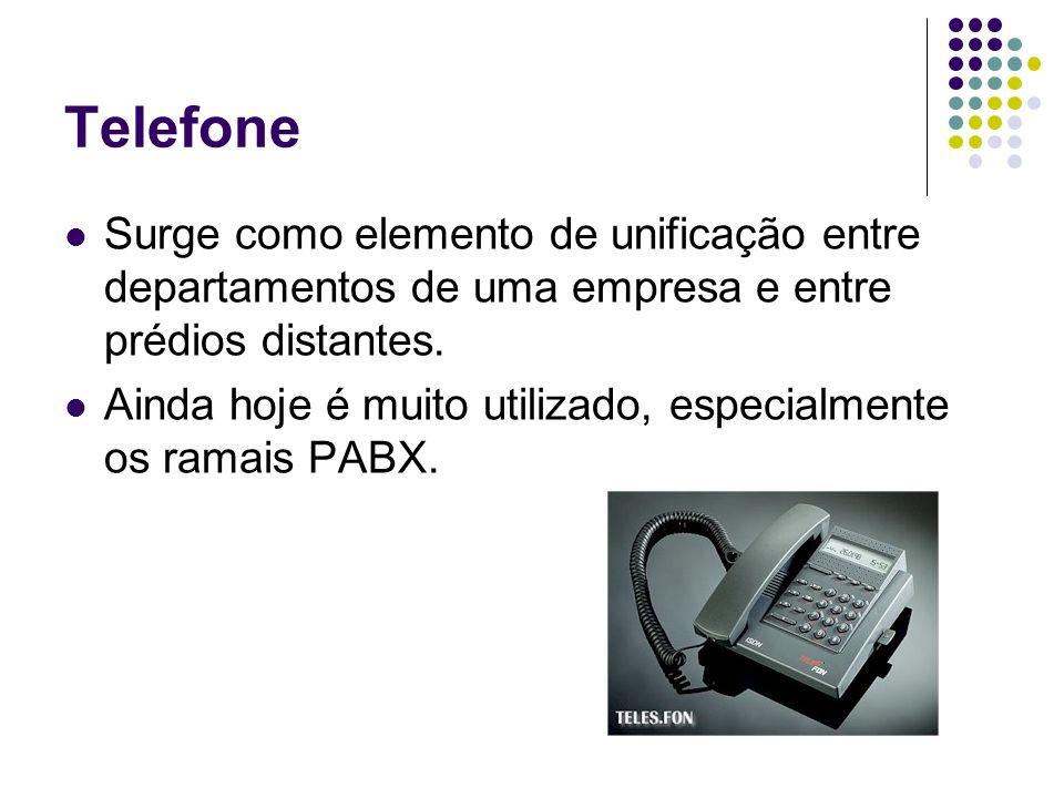 TelefoneSurge como elemento de unificação entre departamentos de uma empresa e entre prédios distantes.