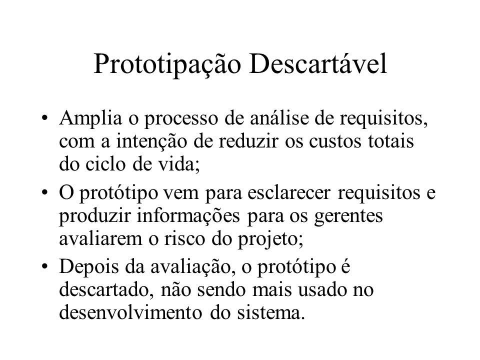 Prototipação Descartável