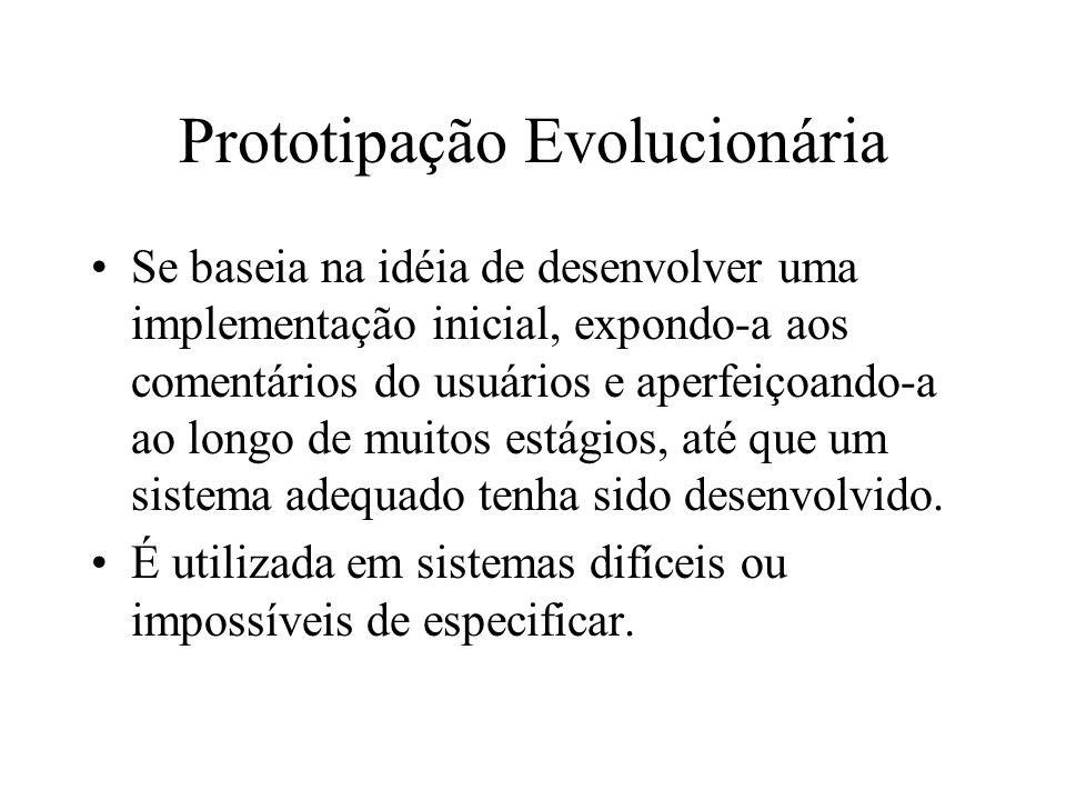 Prototipação Evolucionária