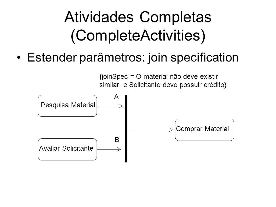 Atividades Completas (CompleteActivities)