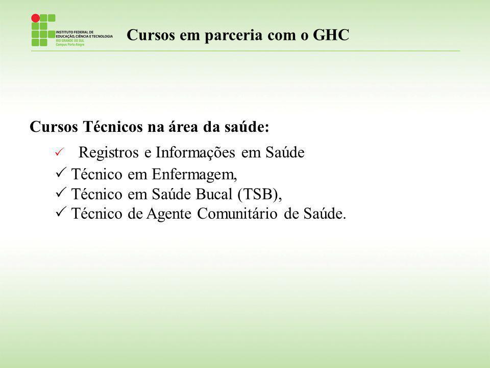 Cursos em parceria com o GHC