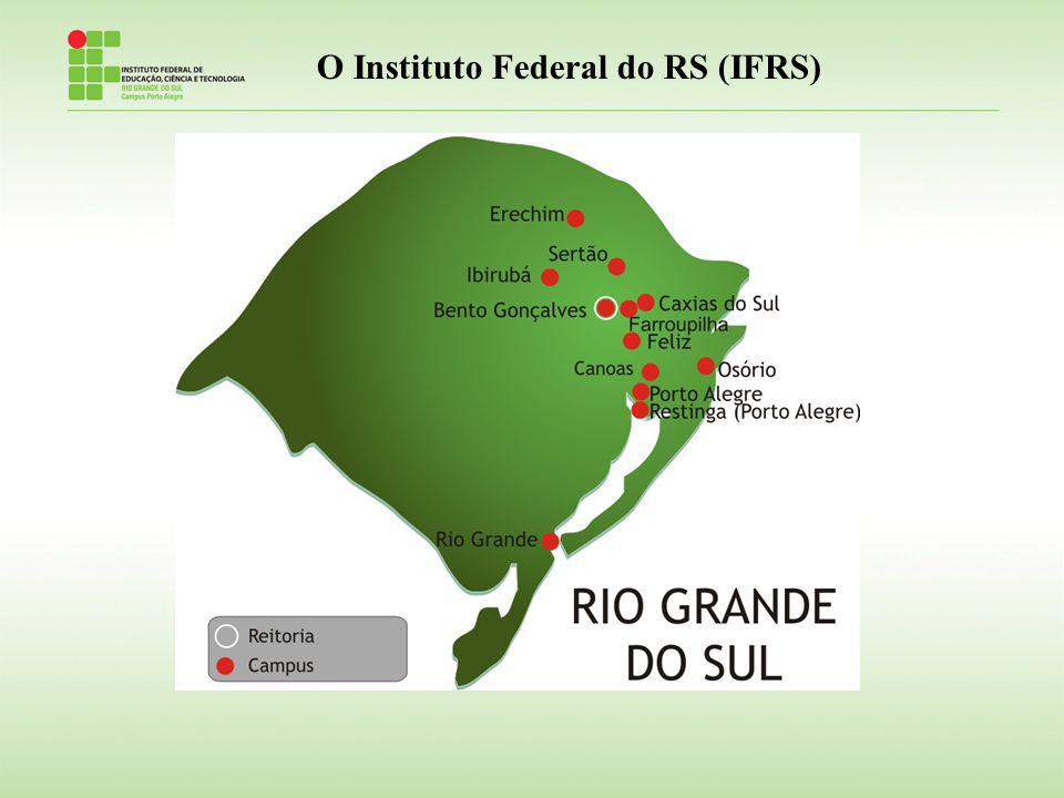 O Instituto Federal do RS (IFRS)