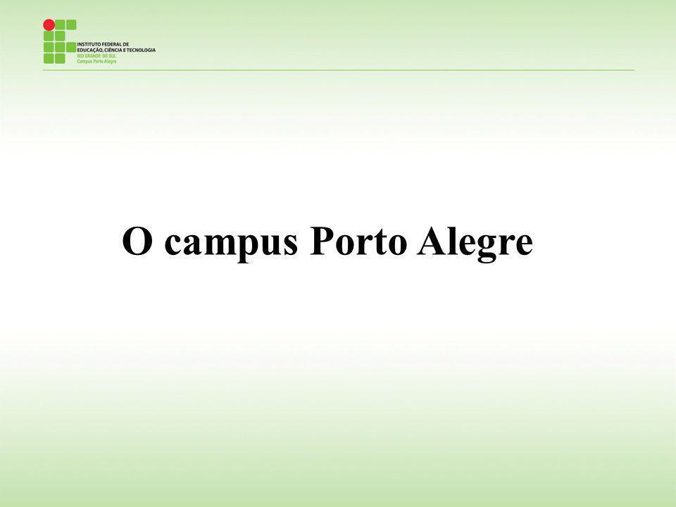 O campus Porto Alegre