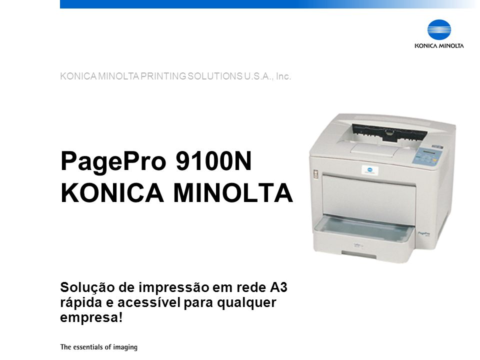 PagePro 9100N KONICA MINOLTA
