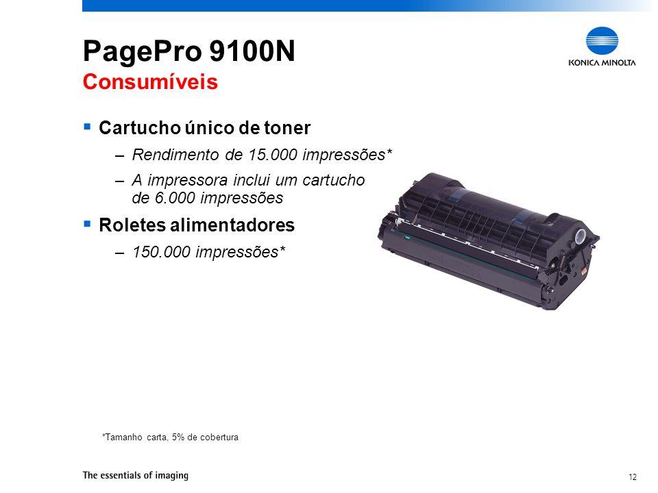 PagePro 9100N Consumíveis Cartucho único de toner
