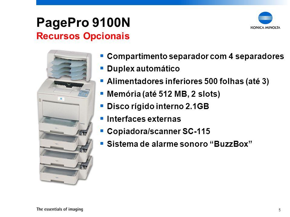 PagePro 9100N Recursos Opcionais