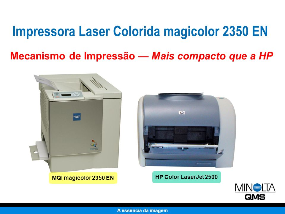 Impressora Laser Colorida magicolor 2350 EN