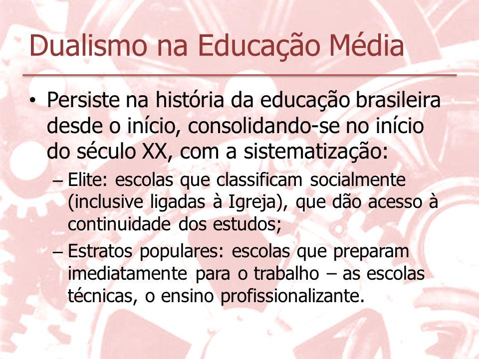 Dualismo na Educação Média