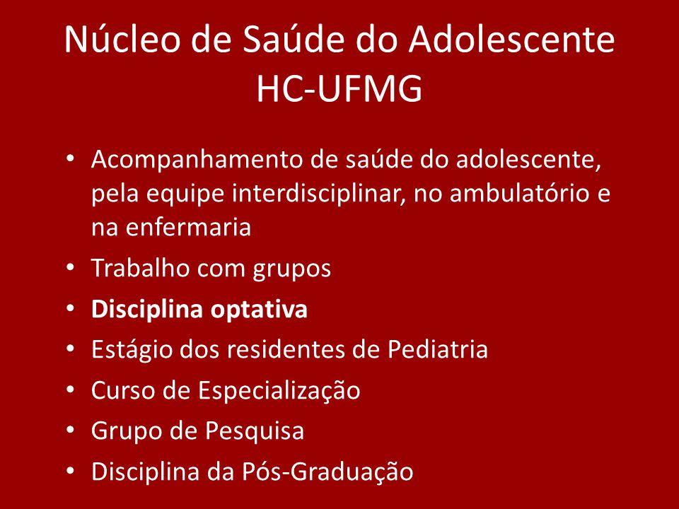 Núcleo de Saúde do Adolescente HC-UFMG
