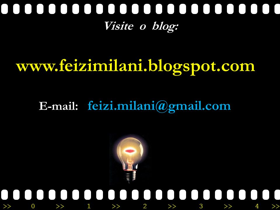 www.feizimilani.blogspot.com Visite o blog: