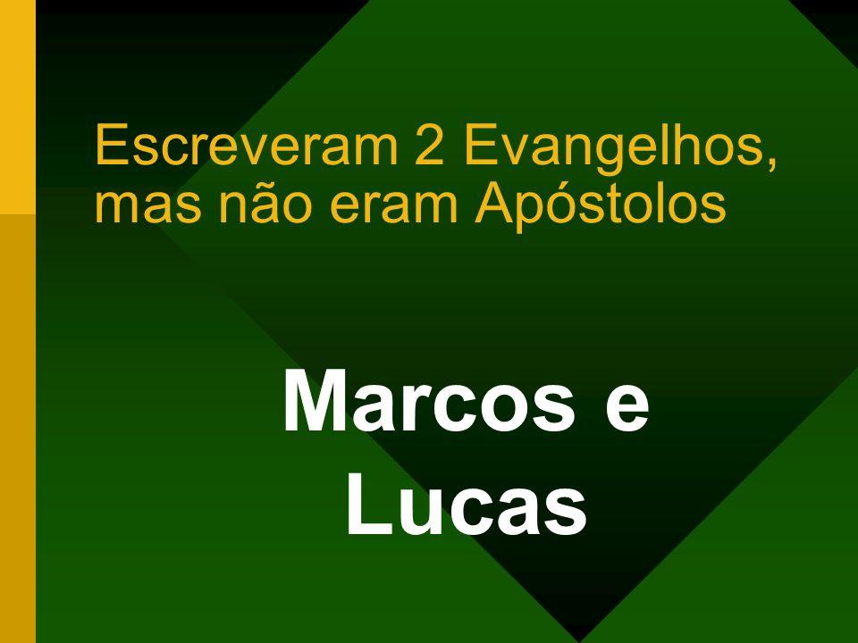 Escreveram 2 Evangelhos, mas não eram Apóstolos