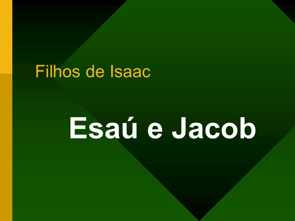Filhos de Isaac Esaú e Jacob