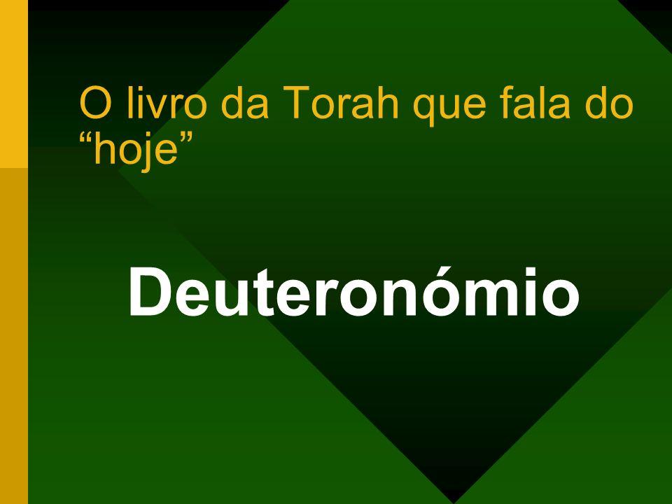 O livro da Torah que fala do hoje