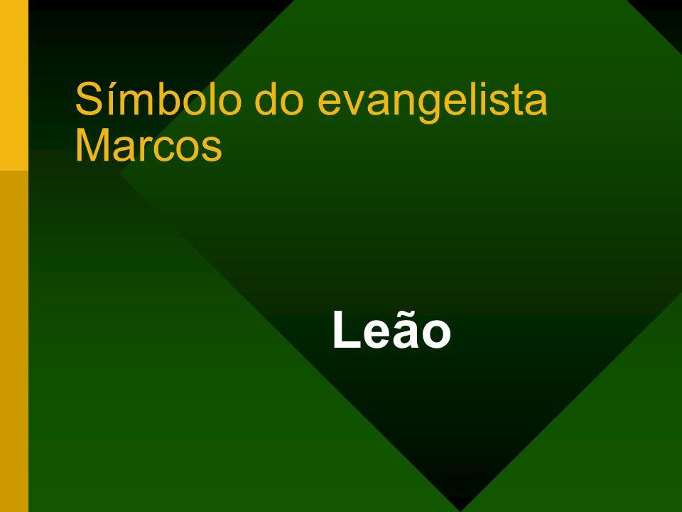 Símbolo do evangelista Marcos