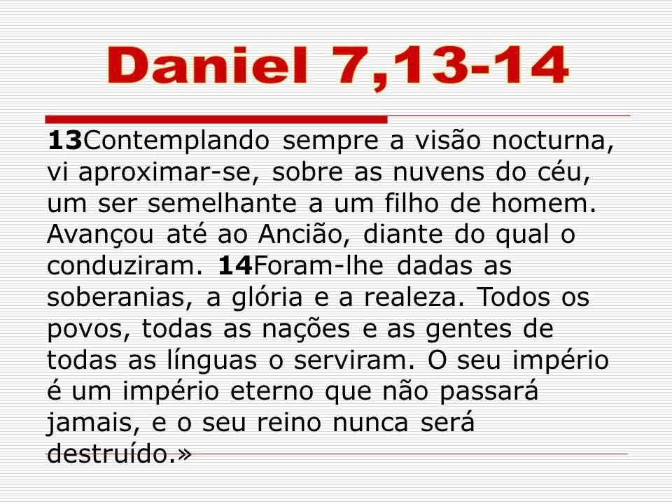 Daniel 7,13-14