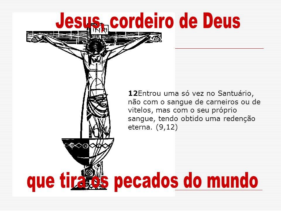 que tira os pecados do mundo