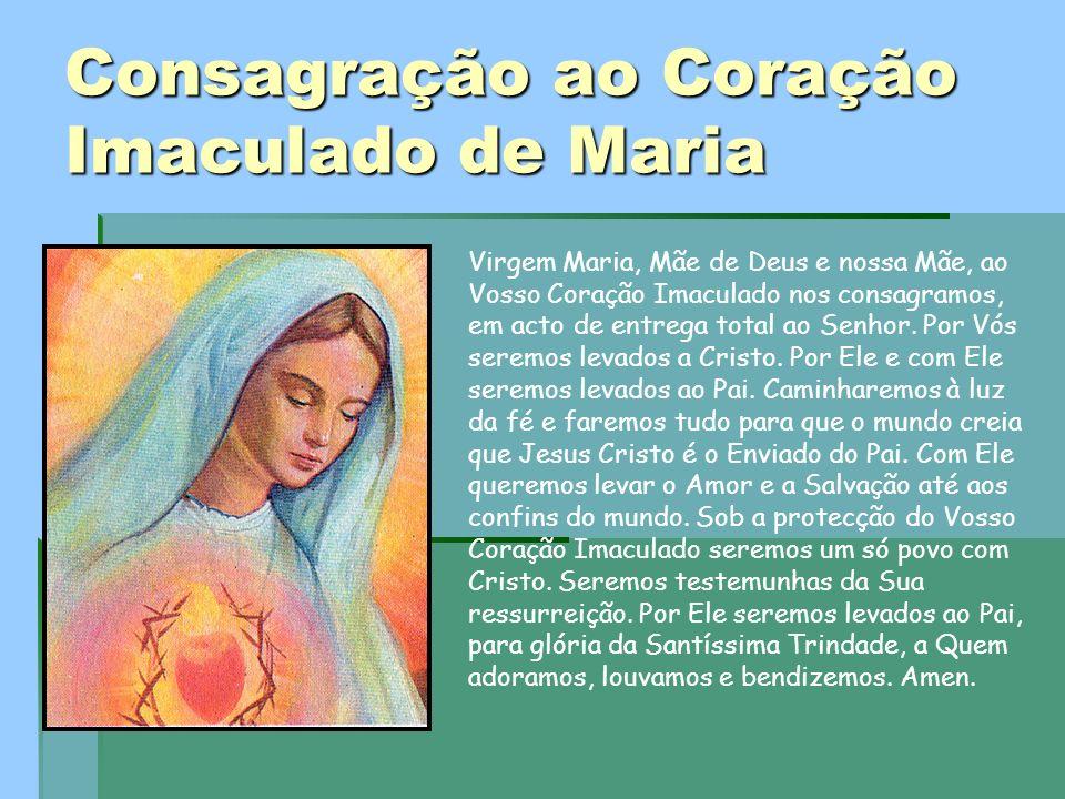 Consagração ao Coração Imaculado de Maria